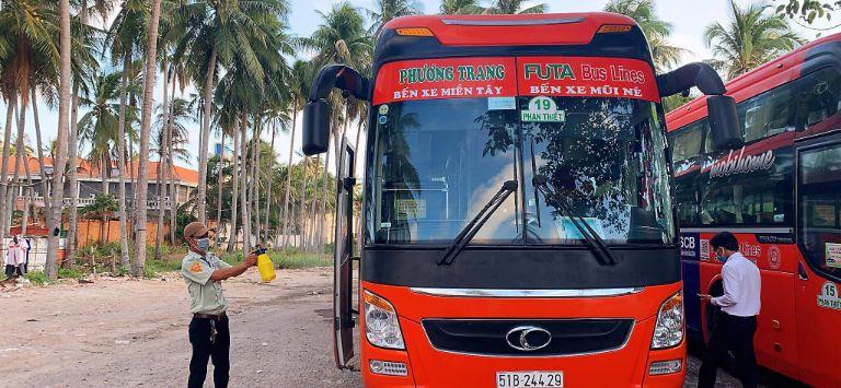 xe Phương Trang đi Bình Thuận