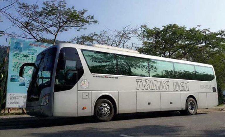 xe khách Sài Gòn Phan Thiết Trung Nga