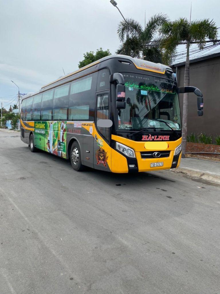 xe khách Sài Gòn Phan Thiết Hà Linh