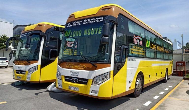 xe khách Long Nguyễn