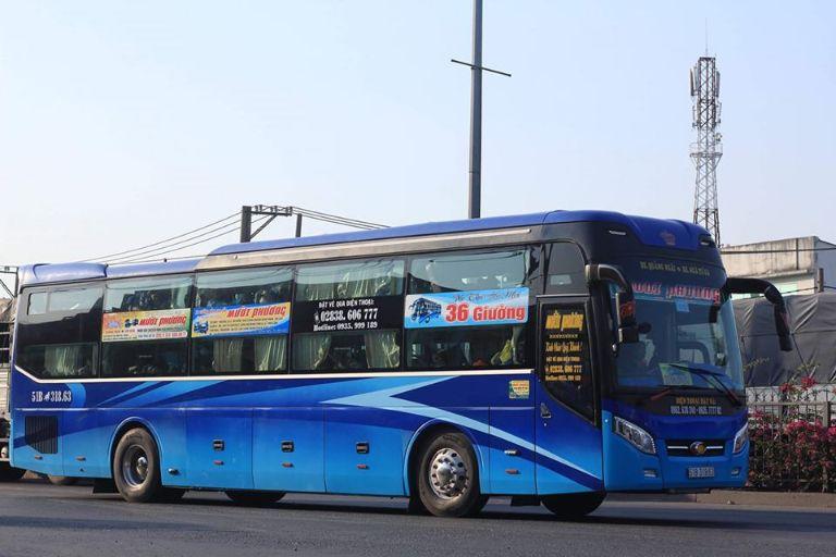 xe khách Mười Phương Sài Gòn Quy Nhơn