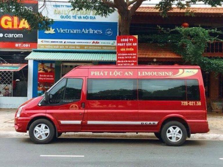xe khách Sài Gòn đến Vũng Tàu Phát Lộc An