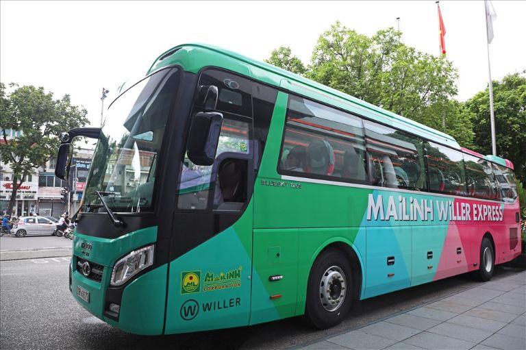 xe khách Sài Gòn Vũng Tàu Mai Linh